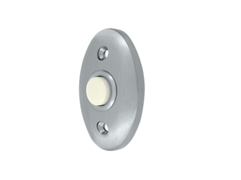 Standard Bell Button - Brushed Chrome