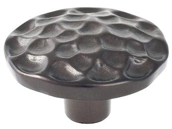 "Pomegranate 1 3/4"" Round Knob  - Oil Rubbed Bronze"