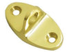 Cabin Swivel Hooks Eye - PVD - Polished Brass