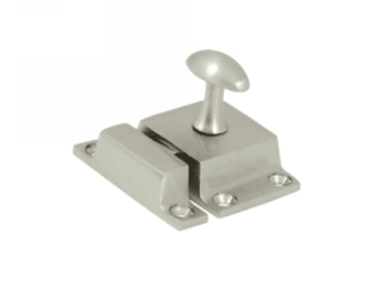 "Cabinet Lock, 1.6""  - Polished Nickel"