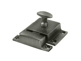 "Cabinet Lock, 1.6""  - Pewter"