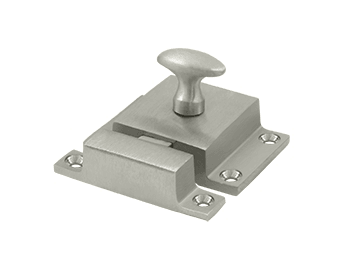 "Cabinet Lock, 1.6""  - Satin Nickel"