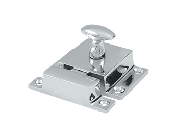 "Cabinet Lock, 1.6""  - Polished Chrome"