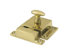 "Cabinet Lock, 1.6""  - Polished Brass"