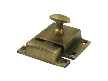 "Cabinet Lock, 1.6""  - Antique Brass"