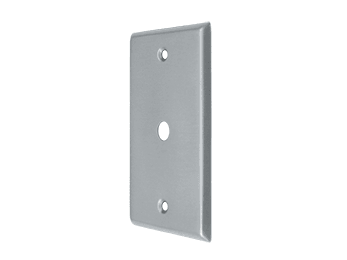 Cable Cover Plate - Brushed Chrome