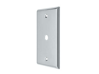 Cable Cover Plate - Polished Chrome