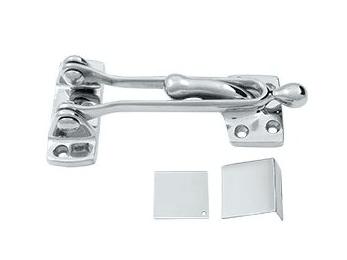 "Door Guard 5""  - Polished Chrome"