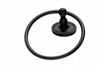 Edwardian Bath Ring - Oil Rubbed Bronze - Smooth Back Plate