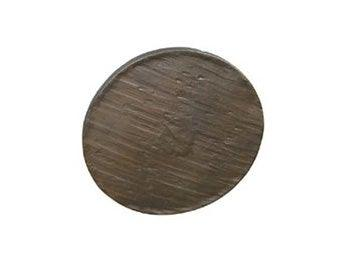 "Forged 3 - 5"" Round Knob - Dark Antique Brass"