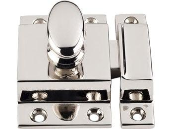 "Cabinet Latch 2"" - Polished Nickel"