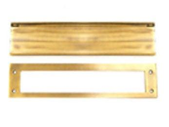 Heavy Duty Mail Slot - Unlacquered Brass