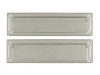 "Mail Slot 13 1/8"" with Interior Flap - Satin Nickel"