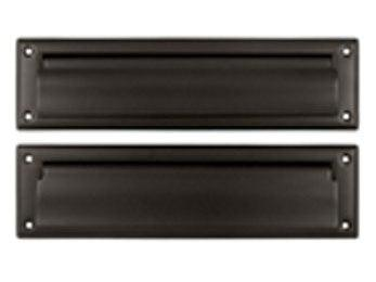 "Mail Slot 8 7/8"" with Back Plate - Oil Rubbed Bronze"