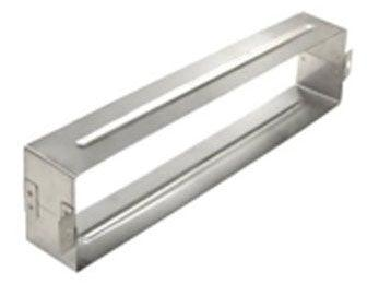 Steel Letter Box Sleeve - Brushed Stainless