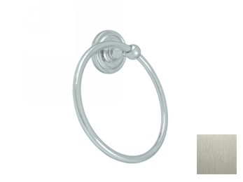 Towel Ring , R-Series - Satin Nickel