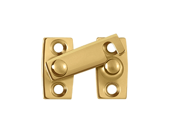 "Shutter Bar/Door Latch 5/8"" - PVD - Polished Brass"