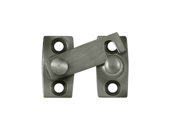 "Shutter Bar/Door Latch 5/8"" - Pewter"