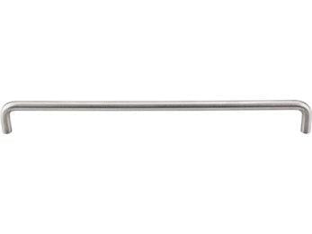 "Bent Bar 11 11/32 "" (c-c) (10mm Diameter) - Brushed Stainless Steel"