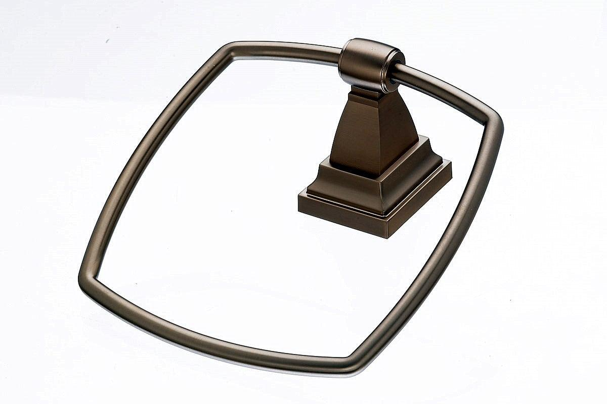 Stratton Bath Ring - Brushed Bronze