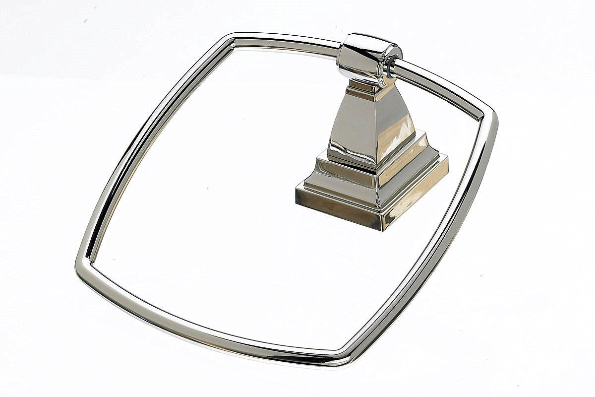 Stratton Bath Ring - Polished Nickel