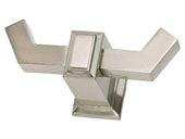 Sutton Place Collection Brushed Nickel 1.44 In Hook