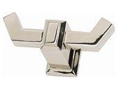 Sutton Place Collection Polished Nickel 1.44 In Hook