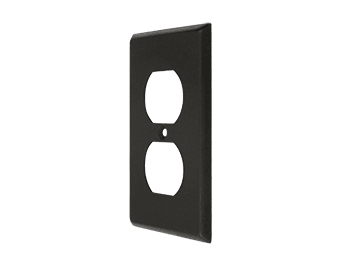 Duplex Outlet Switch Plate - Oil Rubbed Bronze