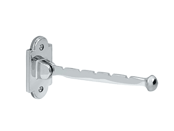 "Valet Hook, 7"" Projection - Polished Chrome"