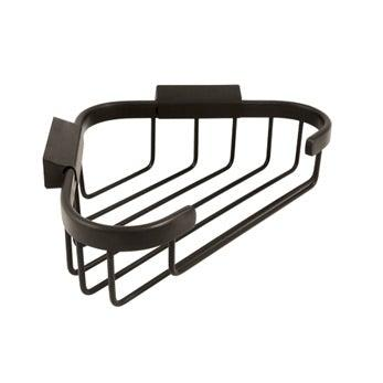 "Wire Basket, 8 1/2"" Corner Basket - Oil Rubbed Bronze"