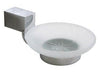 Soap Holder w/ Glass ZA Series - Polished Chrome