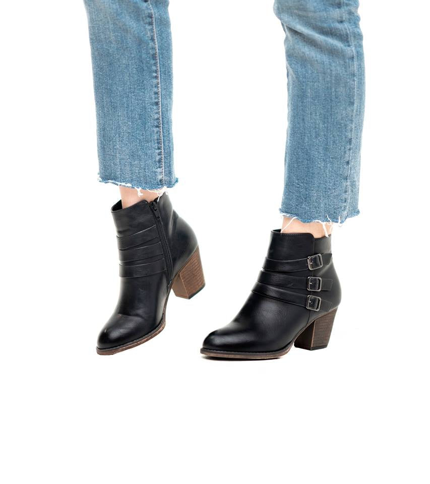 Buckle Up Buttercup Booties
