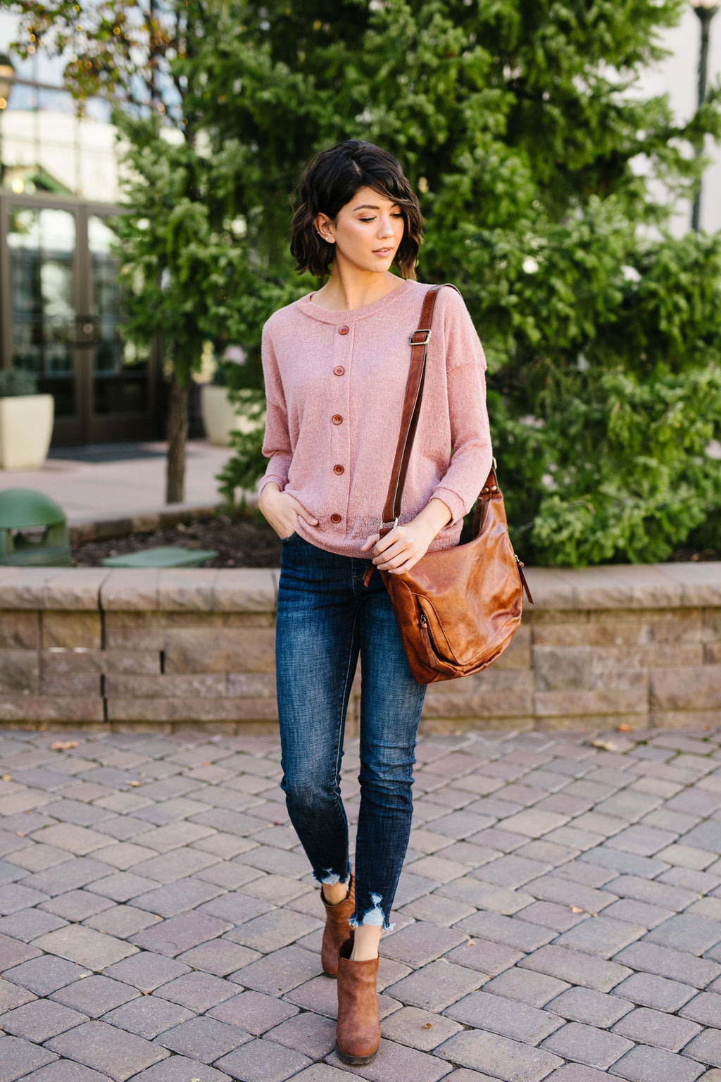 At First Blush Top