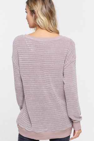 Heavenly Lilac Top