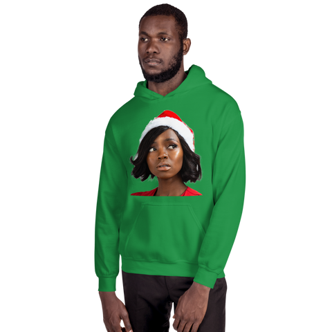Unisex 'On Christmas' cover Hoodie