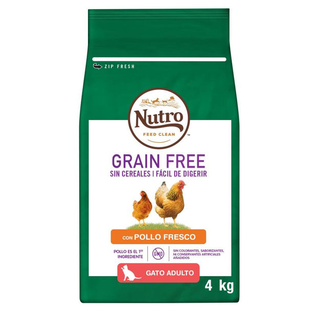 Nutro Grain Free Adult Pollo para Gatos