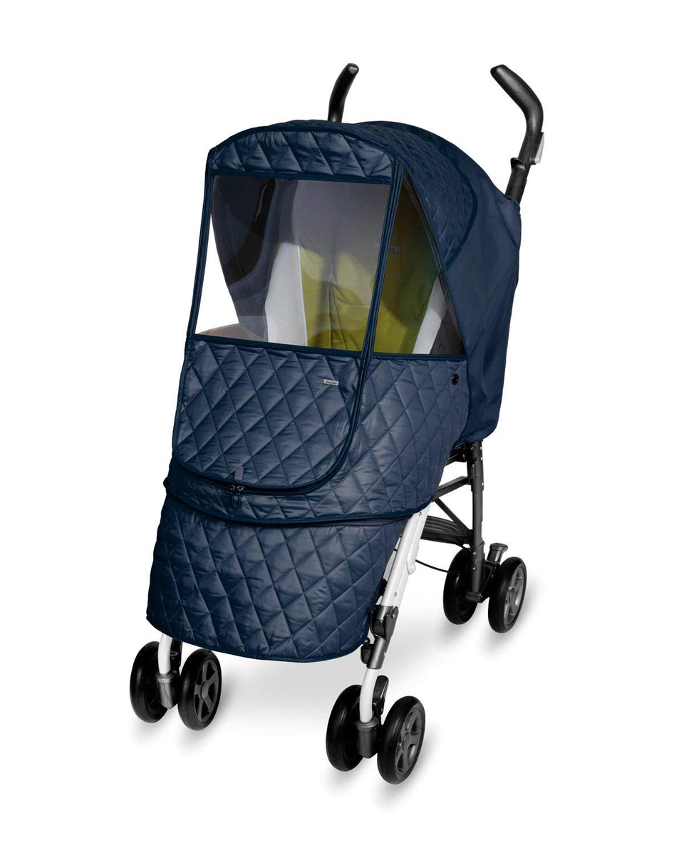 Castle Alpha Stroller Weather Shield (Navy)
