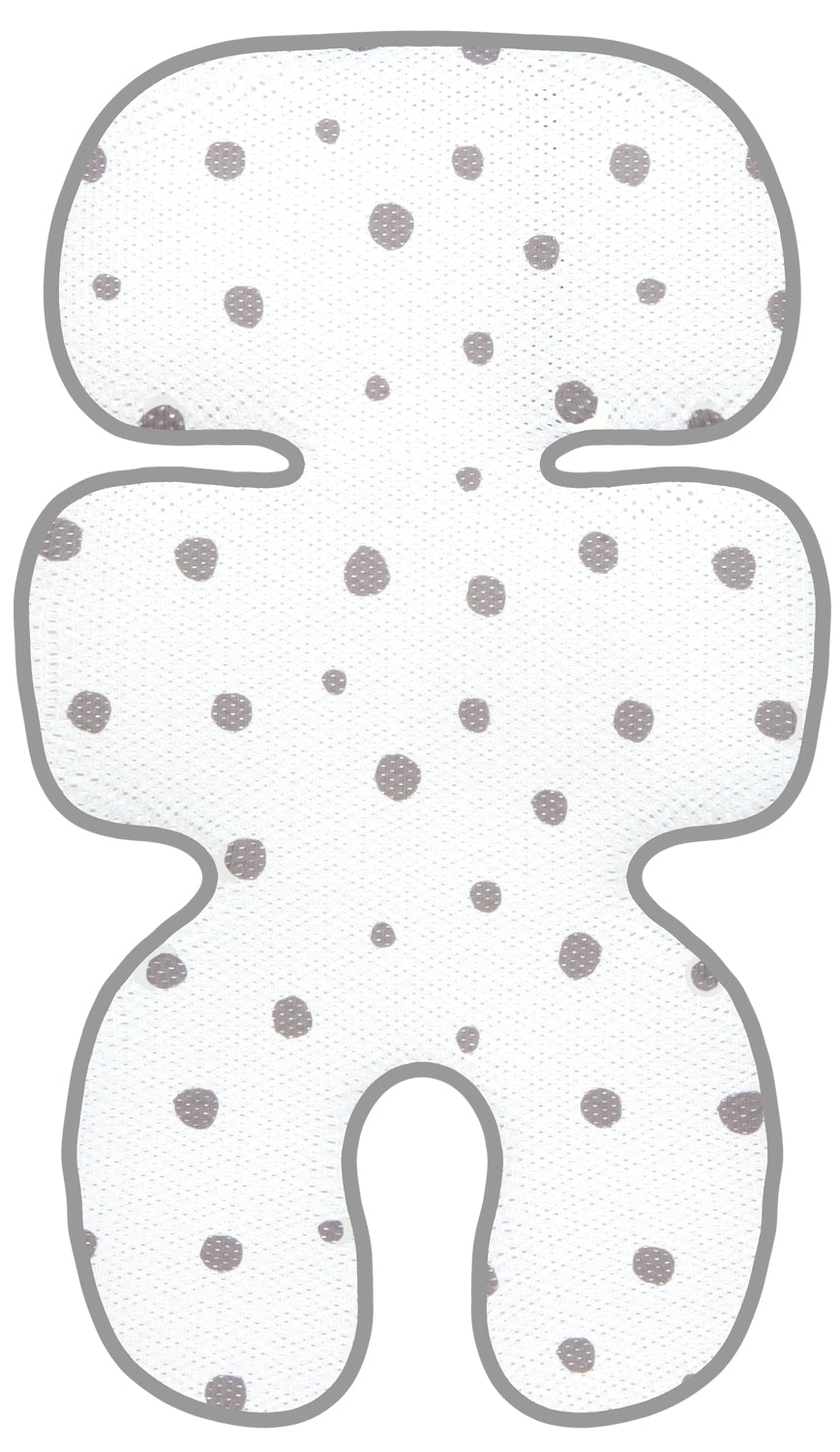 Clean Basic Cool Seat Pad (Dot Grey)