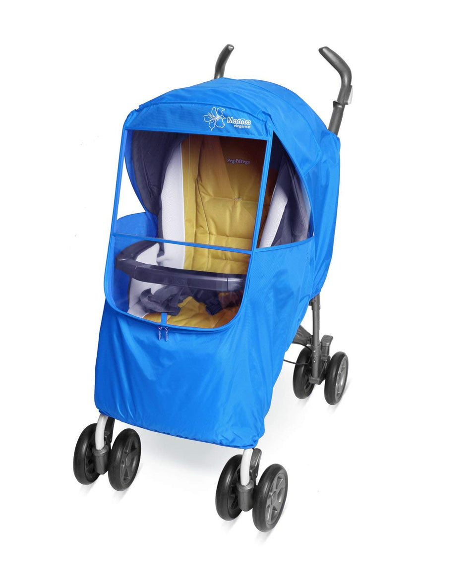 Elegance Plus Stroller Weather Shield (Blue)