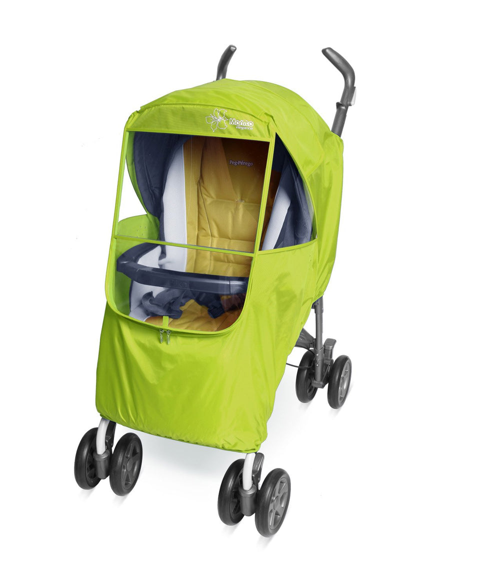 Elegance Plus Stroller Weather Shield (Green)