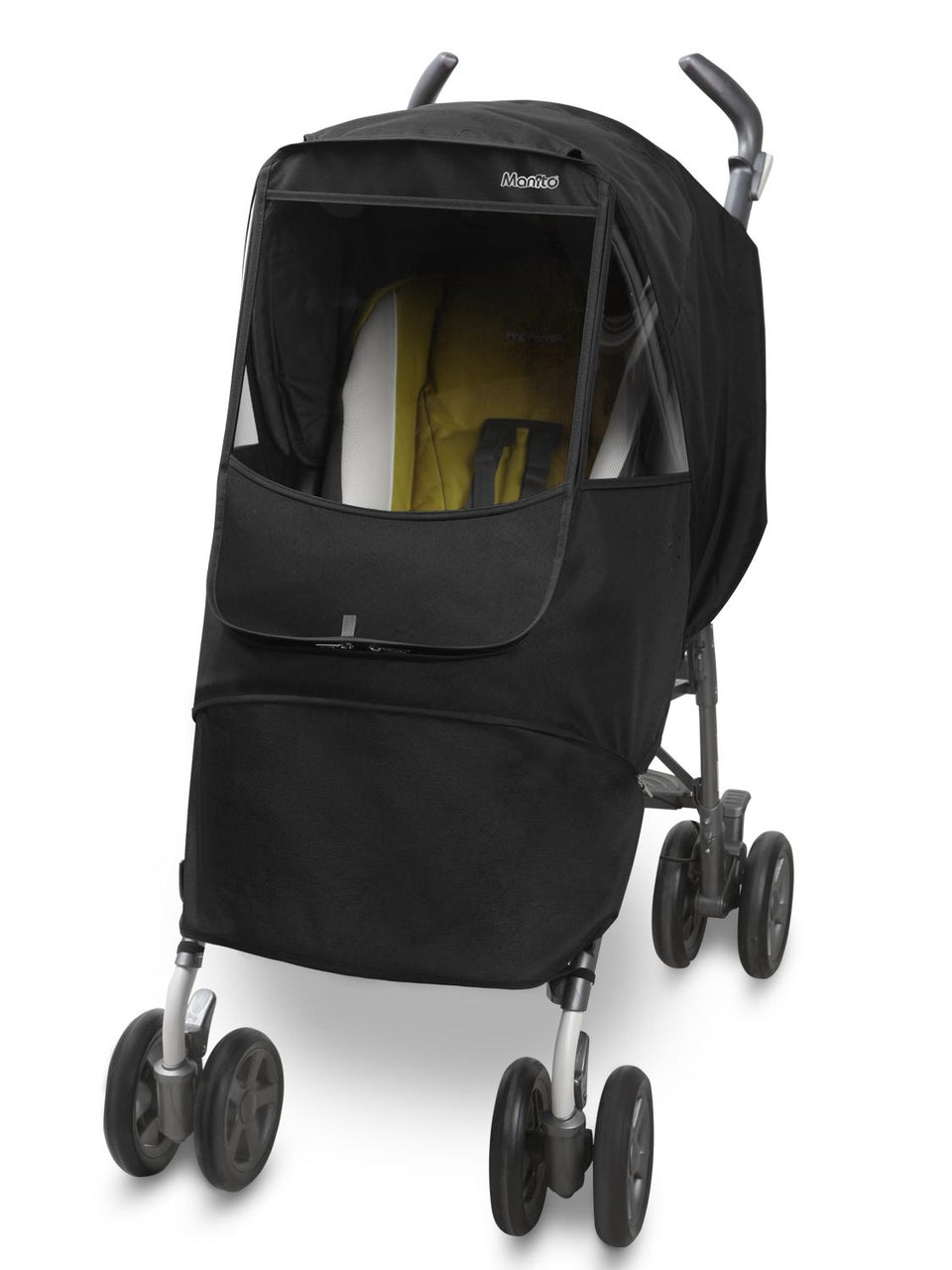 Melange Alpha Stroller Weather Shield (Black)