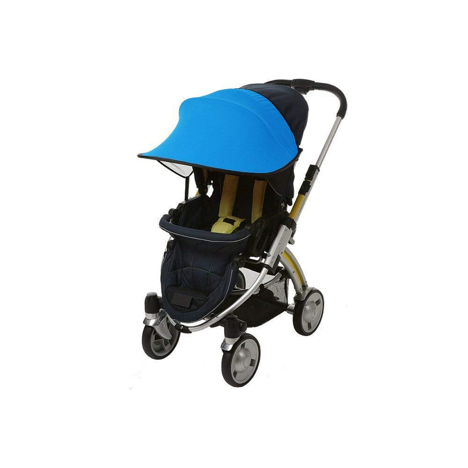 Sun Shade for Stroller & Car Seat (Blue)