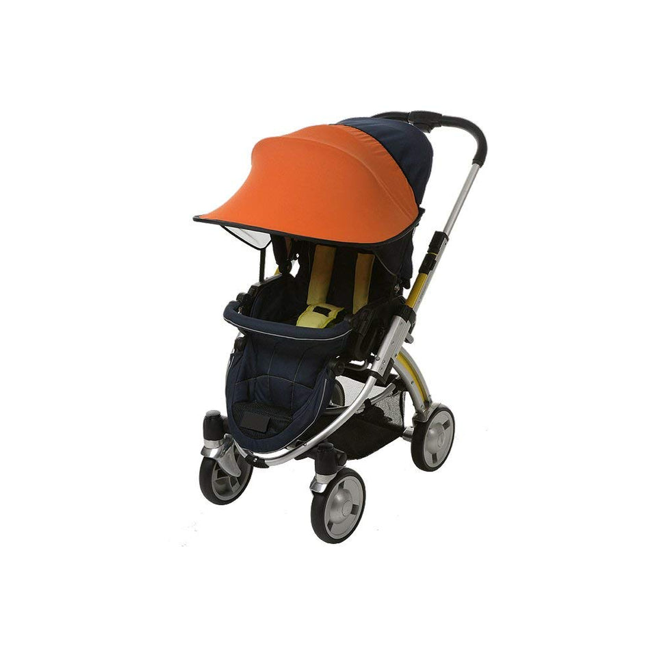 Sun Shade for Stroller & Car Seat (Orange)