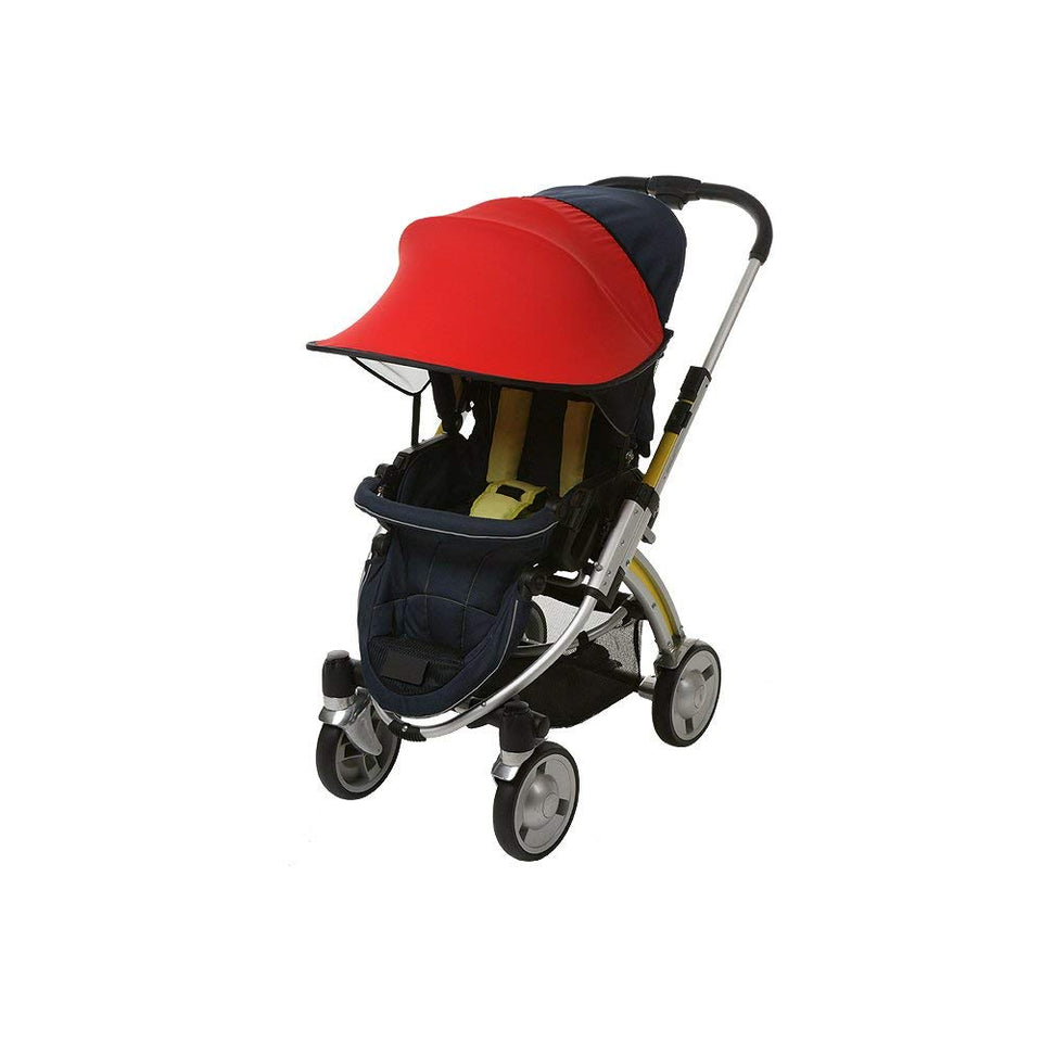 Sun Shade for Stroller & Car Seat (Red)