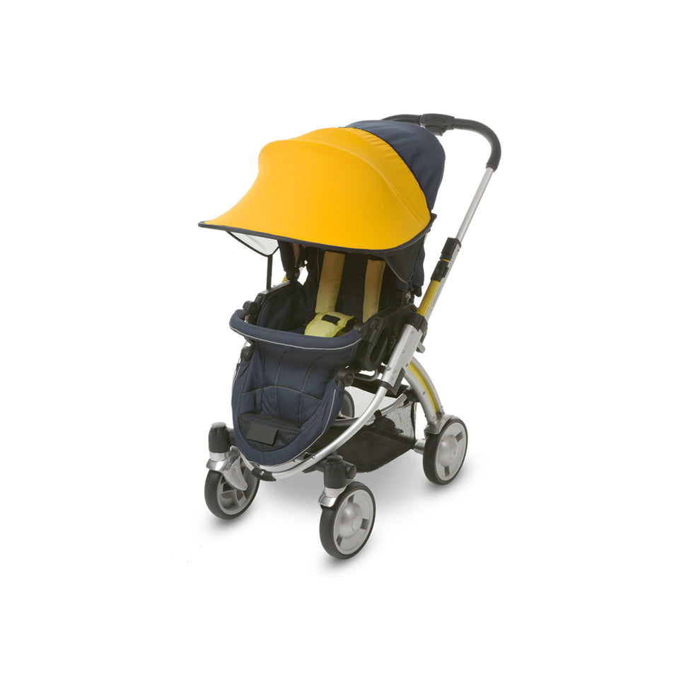 Sun Shade for Stroller & Car Seat (Yellow)