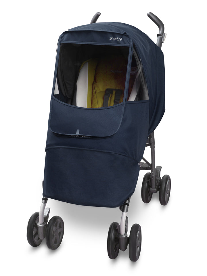 Melange Alpha Stroller Weather Shield (Navy)
