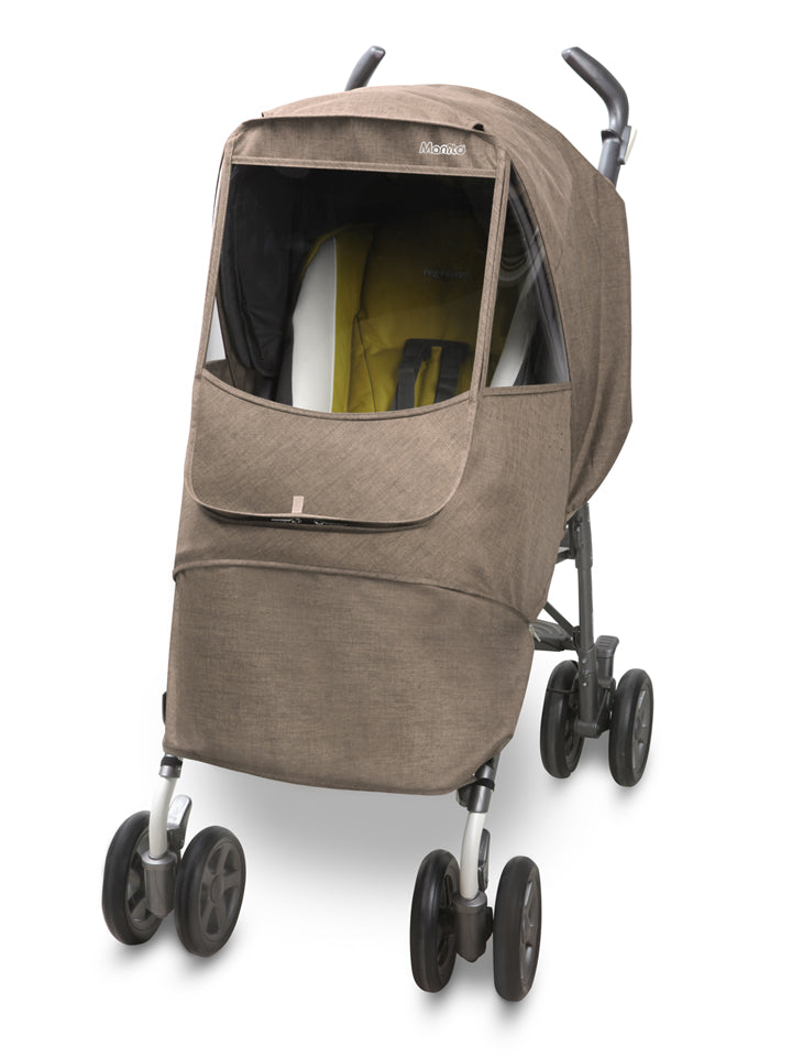 Melange Alpha Stroller Weather Shield (Beige)
