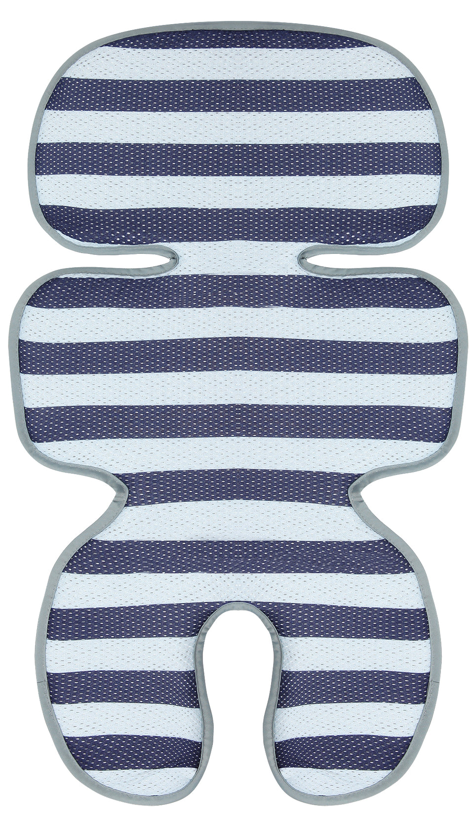 Clean Basic Cool Seat Pad (Stripe Navy)