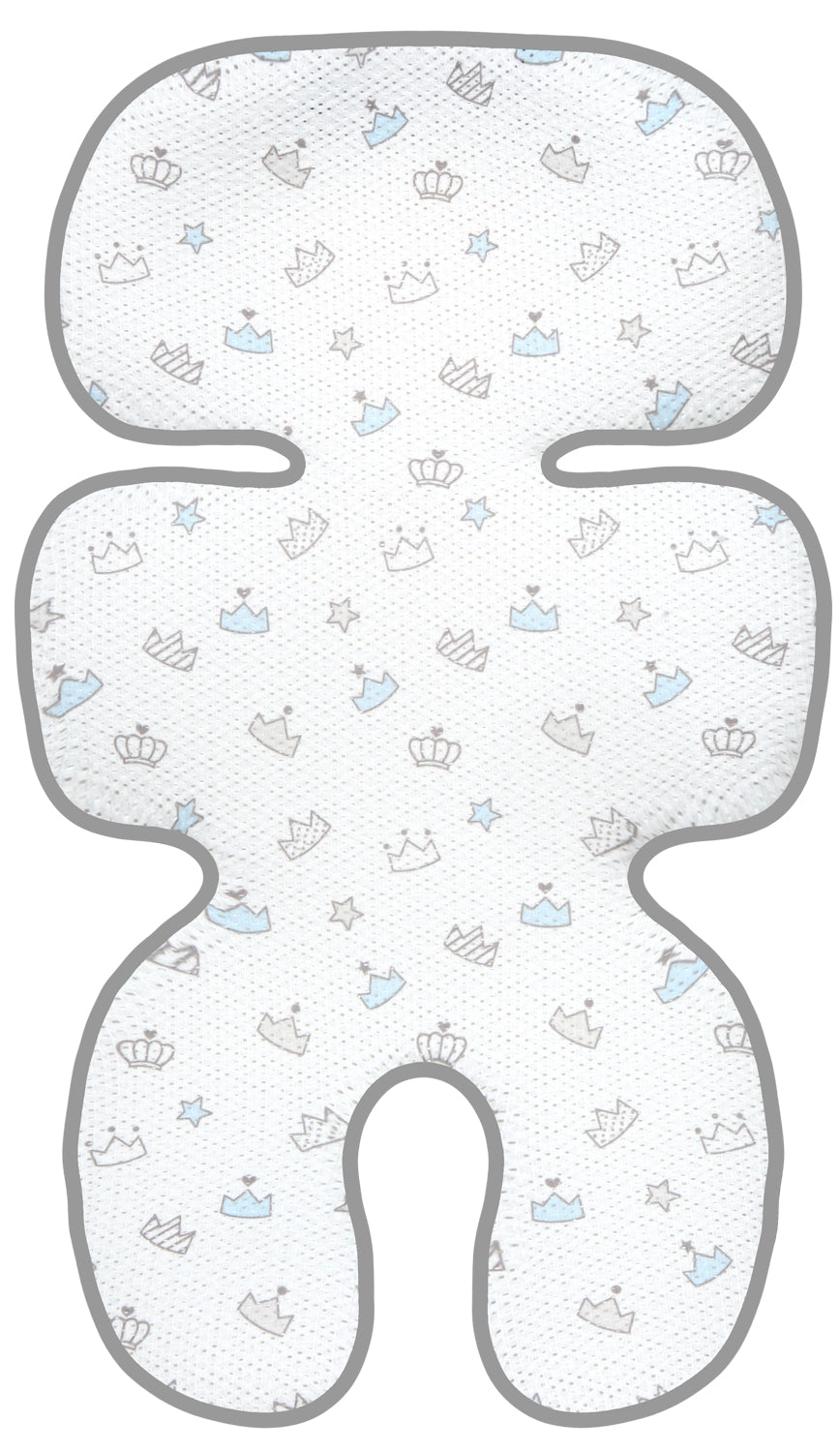 Clean Basic Cool Seat Pad (Tiara Blue)