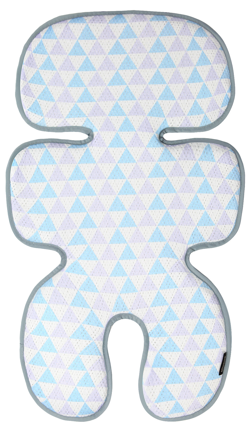 Clean Basic Cool Seat Pad (Triangle Blue/Purple)